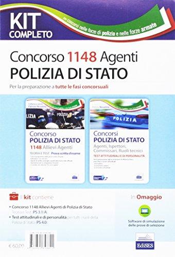 Kit Completo Concorso 1148 Allievi Agenti Polizia di Stato