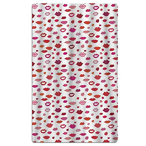 xcvgcxcvasda Badetuch, Soft, Quick Dry, Colorful Flower Beach Towel Soft Quick Dry Lightweight High Absorbent Pool Spa Towel for Men Women 31 X 51 Inch