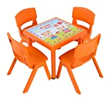 dajar Sets de muebles de jardín silla infantil Jumbo, Naranja, 1pieza