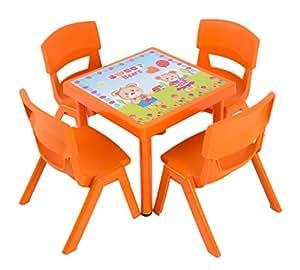 Dajar Gartenmöbel-Sets Kinderstuhl Jumbo, orange, 1 Stück