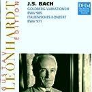 Variations Goldberg / Concerto italien (Leonhardt Edition)