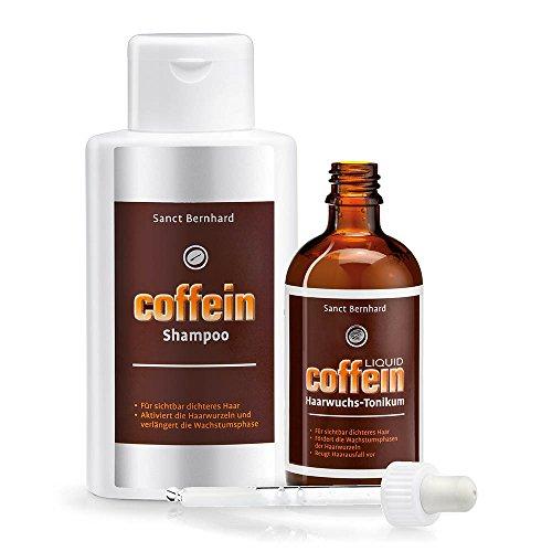 Sanct Bernhard Coffein Haarpflege-Set: Liquid...