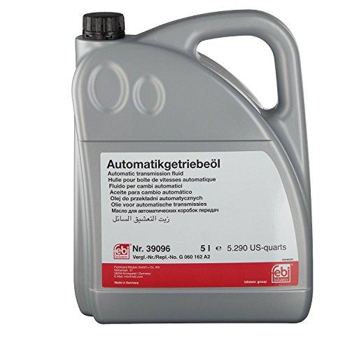 febi bilstein 39096 Automatikgetriebeöl ATF (grün) 5 Liter