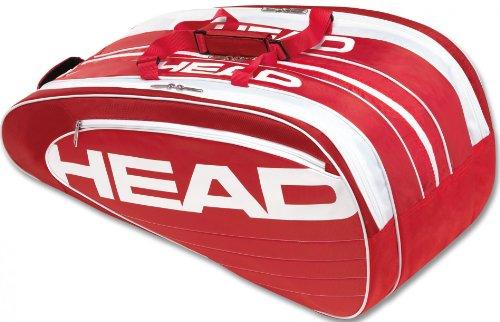 HEAD Schlägertasche Elite Monstercombi - schwarz / rot