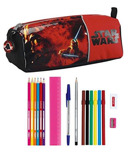 Star Wars – Portatodo Lleno, 17 Piezas, 21 x 8 cm (SAFTA 811401708)