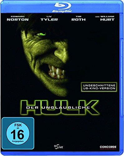 Der unglaubliche Hulk (ungeschnittene US-Kinoversion) [Blu-ray] (Hulk Tim Roth)