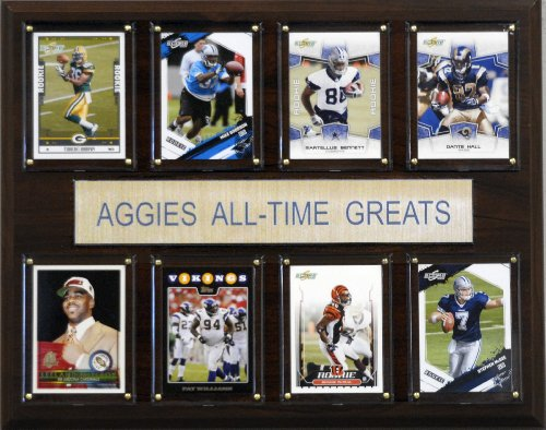 C & I Collectables NCAA Football Texas A&M Aggies All-Time Greats Plaque