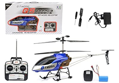 RC Helicopter GT GIGACOPTER Radio Remote Control The Giant with Gyro 1,35 m 1,30 metre long indoor-outdoor modus complete set