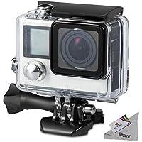 Deyard Wasserfestes Gehäuse mit Schnellspann-System und Daumenschraub für die GoPro Hero 4 und Hero3+ Action Cam for GoPro Hero 4 and Hero 3+ Action Camcorder - 45m Unterwasser-Fotografie