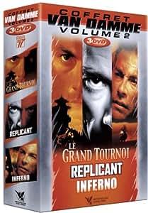 Coffret Jean Claude Van Damme N°2 - 3 DVD : Le grand tournoi / Replicant / Inferno