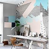 HUANGYAHUI carta da parati 3D Geometria Astratta Tv In Soggiorno Divano Letto A Parete Di Sfondo Di Stoffe Non Tessute Wallpaper Wallpaper Lo Sfondo