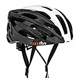 RH+ Casque de vélo Z Zero White Grey-Shiny Black L/XL Unisexe Adulte