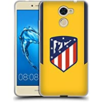 Official Atletico Madrid Away 2017/18 Crest Kit Soft Gel Case for Huawei Y7 Prime / Y7 (2017)
