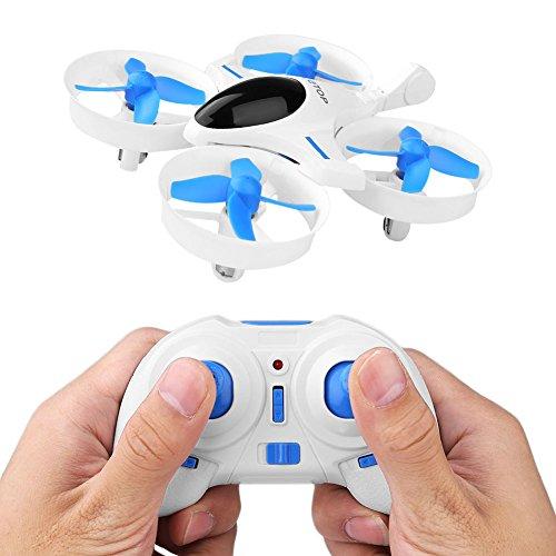 Cewaal El mini abejón de RC Quadcopter con 3D encorve el modo sin cabeza una vuelta dominante Nano los helicópteros para los niños
