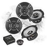 Helix Front/Heck 13cm/130mm Auto Lautsprecher/Boxen/Speaker Komplett-Set für Honda