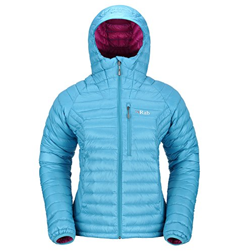 Rab Microlight Alpine Jacket Women Daunenjacke capri Gr. 40 (Alpine Jacke Microlight)