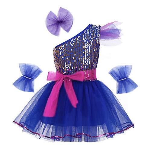 Iiniim Vestido Lentejuelas Princesa Flores