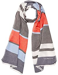 Tommy_jeans Womens Tjw Logo Carré Neckerchief, Multicolore, Une Taille (taille Du Fabricant: Os) Jeans Tommy
