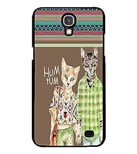Fuson 2D Printed Cartoon Designer back case cover for Samsung Galaxy Mega 2 - D4126