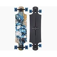 """Unbekannt Landyachtz Maple Drop Hammer Longboard (36.5"""" - Blue Jay)"""