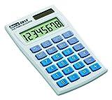 Rexel Ibico 081X Pocket Calculator LCD Display (White/Blue)