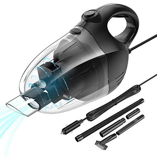 Über Kommerzielle Wasser (NULAXY Autostaubsauger, Handstaubsauger Auto mit Hochleistungs Nass/Trocken Sauger 5000 Pa mit 16,4 Ft Kabel und Düsen Set für Auto Reinigung)
