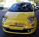 1 Paar Sexy Wimpern für Autos, passend für alle Marken