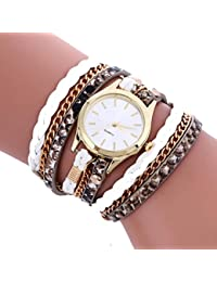 Clearance. Las mujeres de relojes Sonnena Lady Bohemian pulsera analógico reloj de pulsera joyería Set, venta caliente reloj de pulsera, 2018para fiestas Club Casual relojes reloj de acero inoxidable de regalo del día de San Valentín, blanco, Watch