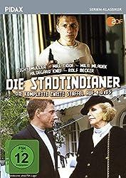 Die Stadtindianer, Staffel 2 / Weitere 14 Folgen der Krimiserie (Pidax Serien-Klassiker) [4 DVDs]