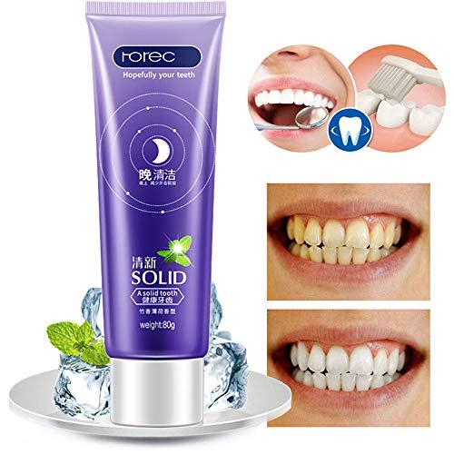 Frische Atemzahnpasta Bambus-Pfefferminz-Pflege Gingiva Oral Care Zahnpasta - Pfefferminze Whitening Zahnpasta