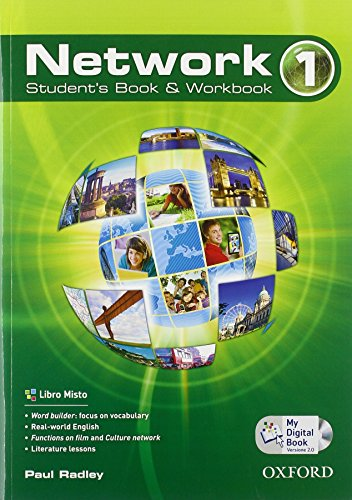 Network. Student's book-Workbook-Mydigitalbook 2.0. Per le Scuole superiori. Con CD Audio. Con espansione online: 1