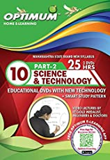 Optimum Educator Educational DVD's Std 10 MH Board Science Part 2-Digital Guide Perfect Gift for School Students – Easy Video Learning