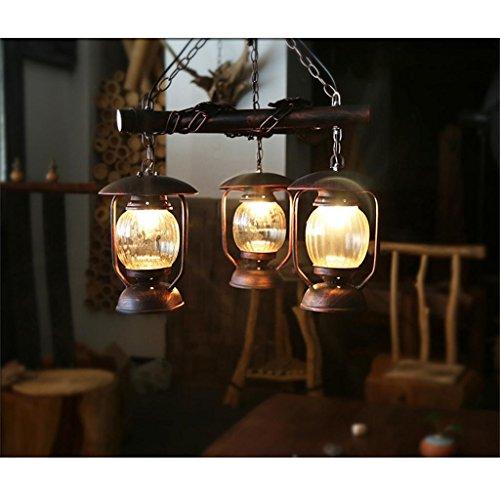 Shopping-Cafe lampadario pendente paese americano personalizzato albergo soggiorno illumina retro ristorante Ingegneria