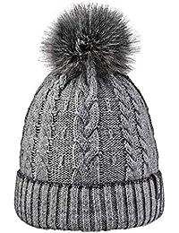 Amazon.it  cappello - Grigio   Cappelli e cappellini   Accessori ... a3222c76b8ec
