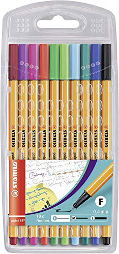 STABILO - Fineliner point 88 - 10er Pack - Sondersortierung