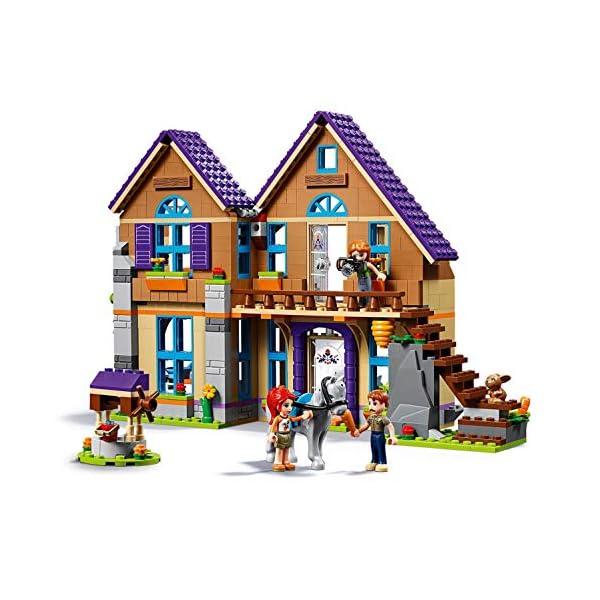 LEGO Friends LaVillettadiMia, 3Mini-doll, Figure del Coniglio e del Cavallo,Casa delle Bambole da Costruire, Giocattoli per Bambini, 41369 3 spesavip