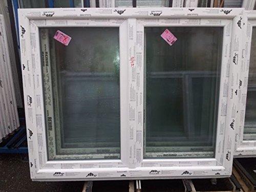 Kunststofffenster Seebach8000 150x120 cm (b x h), weiß, links Dreh-Kipp, rechts Drehöffnung