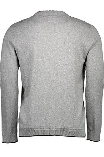 LEE Crew Knit - Pull - Homme Grigio