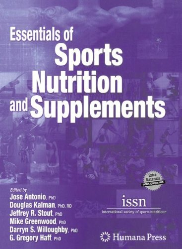 Essentials of Sports Nutrition and Supplements (2008-06-11) par unknown