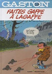 "Afficher ""Gaston n° 19 Faites gaffe à Lagaffe"""