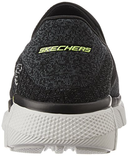 Skechers - Equalizer 2.0, Scarpe da ginnastica Uomo Nero (Black (Bkw - Black White))