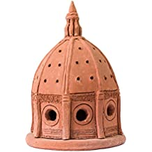 Massimo Carbone Terrecotte. Portacandele Brunelleschi, terracotta di Impruneta. Profondità 28 cm; larghezza 28 cm; altezza 23 cm; lunghezza 32 cm