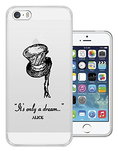 C0114-alice in wonderland is a only dream 6S iphone 6 coque fashion trend coque gel silicone coque