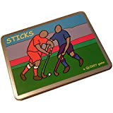 STICKS! - The Quikky Sticks Field Hockey board game in a slim-line hinged tin