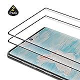 [2-Pezzi] Vetro Temperato Compatibile con Samsung Galaxy Note 10 Plus, Ultra Resistente Pellicola Protettiva per Samsung Note 10 Plus, [Durezza 9H] [Anti Graffi] [Bordi Arrotondati da 2.5D]