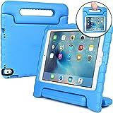 Apple iPad Pro 9.7 / iPad Air 2 Hülle, [2-in-1 Griffige Tragehülle & Stand] COOPER DYNAMO Robuste Strapazierfähige Sturz- und Kindersichere Hülle + Stand & Displayschutz -Jungs Mädchen Erwachsene Ältere Blau