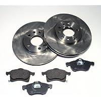 Bremsbel/äge Hinten//Hinterachse Autoparts-Online Set 60001081 Bremsscheiben /Ø 226 mm//Bremsen