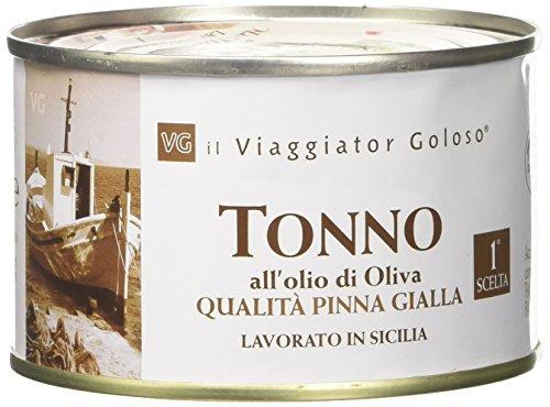 Il Viaggiator Goloso, Tonno in Olio di Oliva - 4 pezzi...