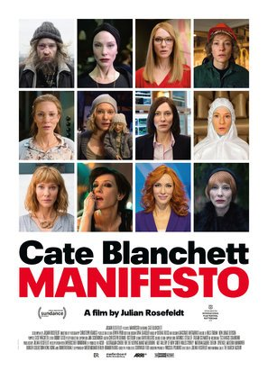 Manifesto - Cate Blanchett - U.S Movie Wall Poster Print - 43cm x 61cm / 17 Inches x 24 Inches A2