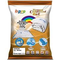 DIBAG Bpro - Bolsas de almacenaje al vacío para ropa, edredones o almohadas con sistema de cierra al vacío (12 unidades, 80 x 60 cm)
